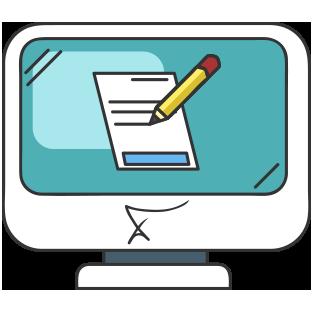 jpg library Assessment clipart. Online elamb