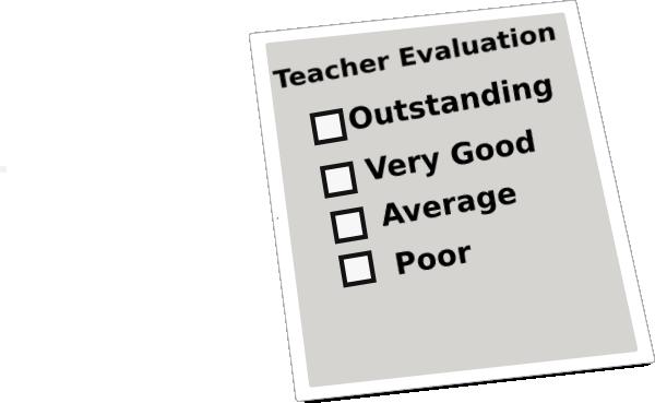 vector stock Teacher Evaluation Clip Art at Clker
