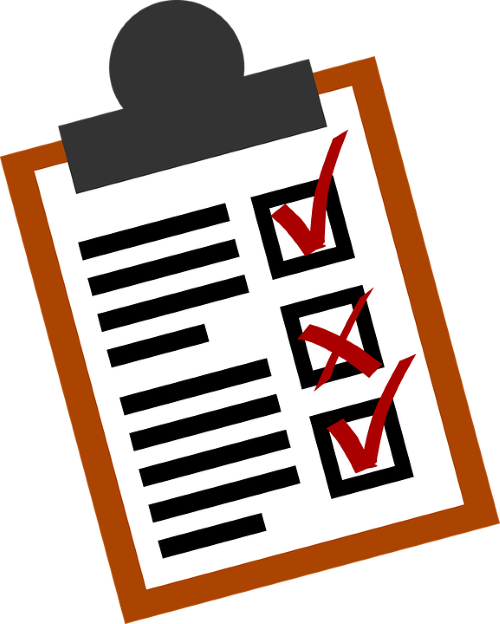 clip art free library Checklist clipart assessment. Best practices for contractor.