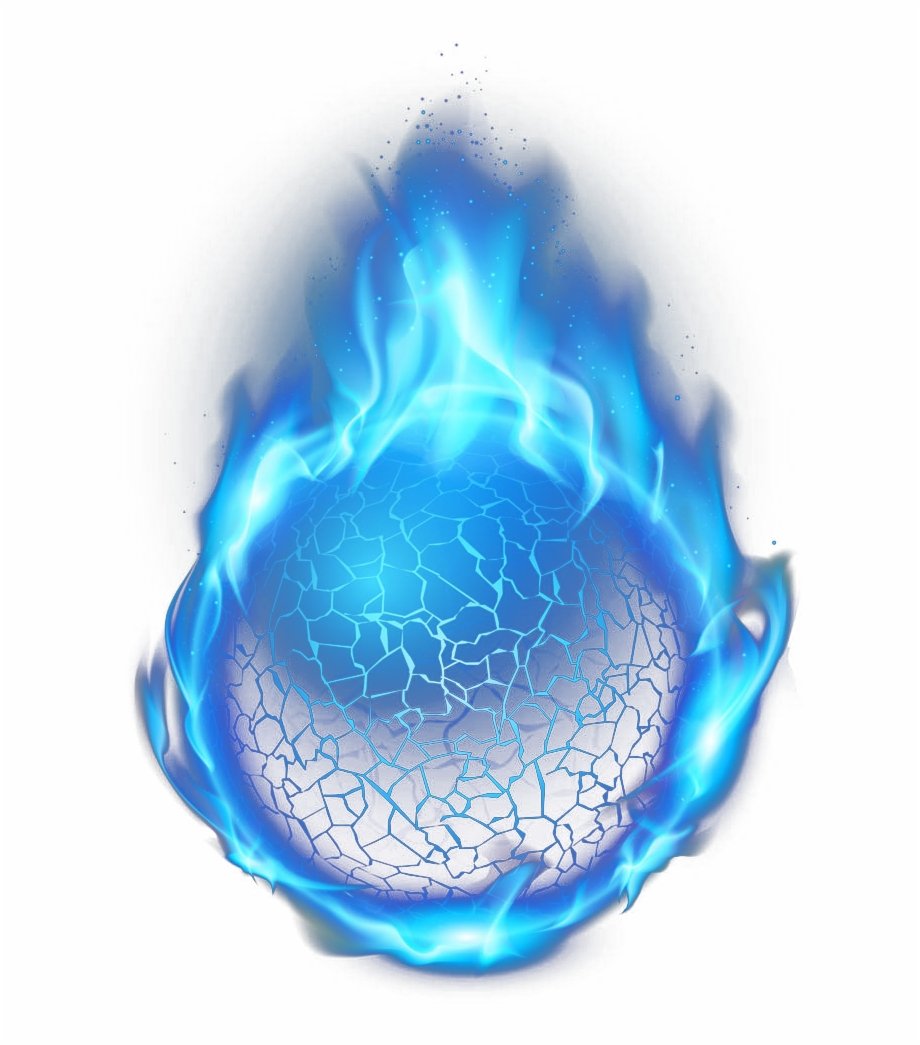 graphic library download Download for free png. Transparent fireball blue.