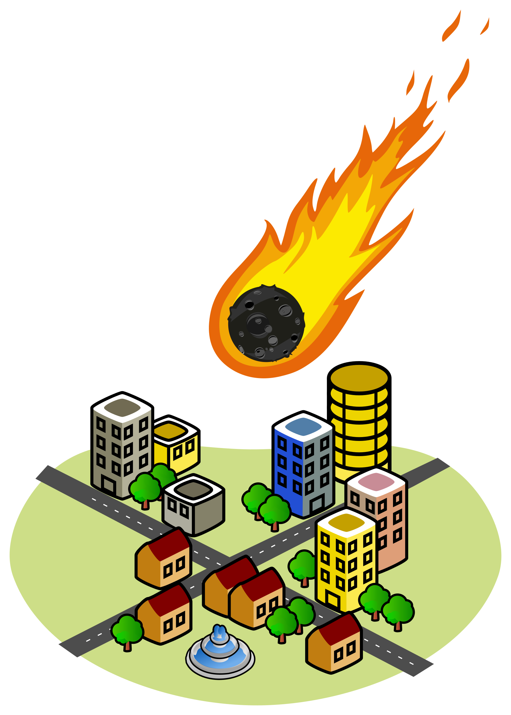 jpg library download Asteroid clipart fireball. Free on dumielauxepices net.
