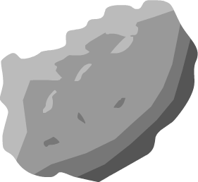 svg asteroid clipart illustration #21520455
