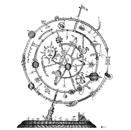 image library download astrolabe drawing medieval #89352168