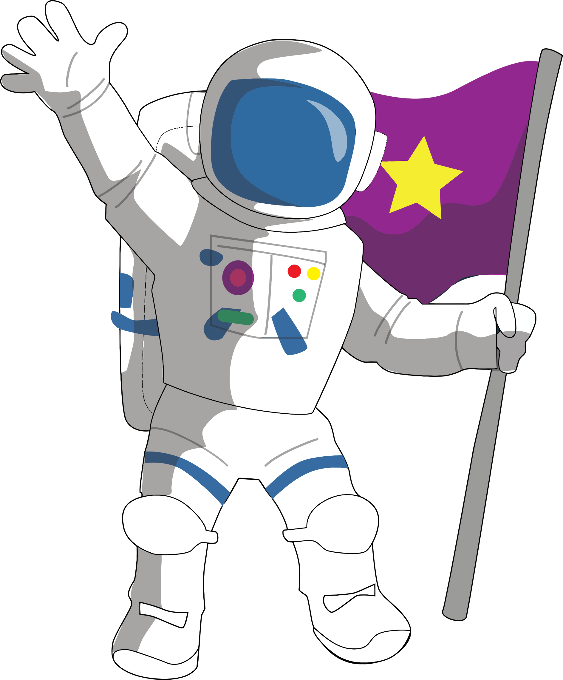 freeuse library Cartoon big image png. Astronaut clipart