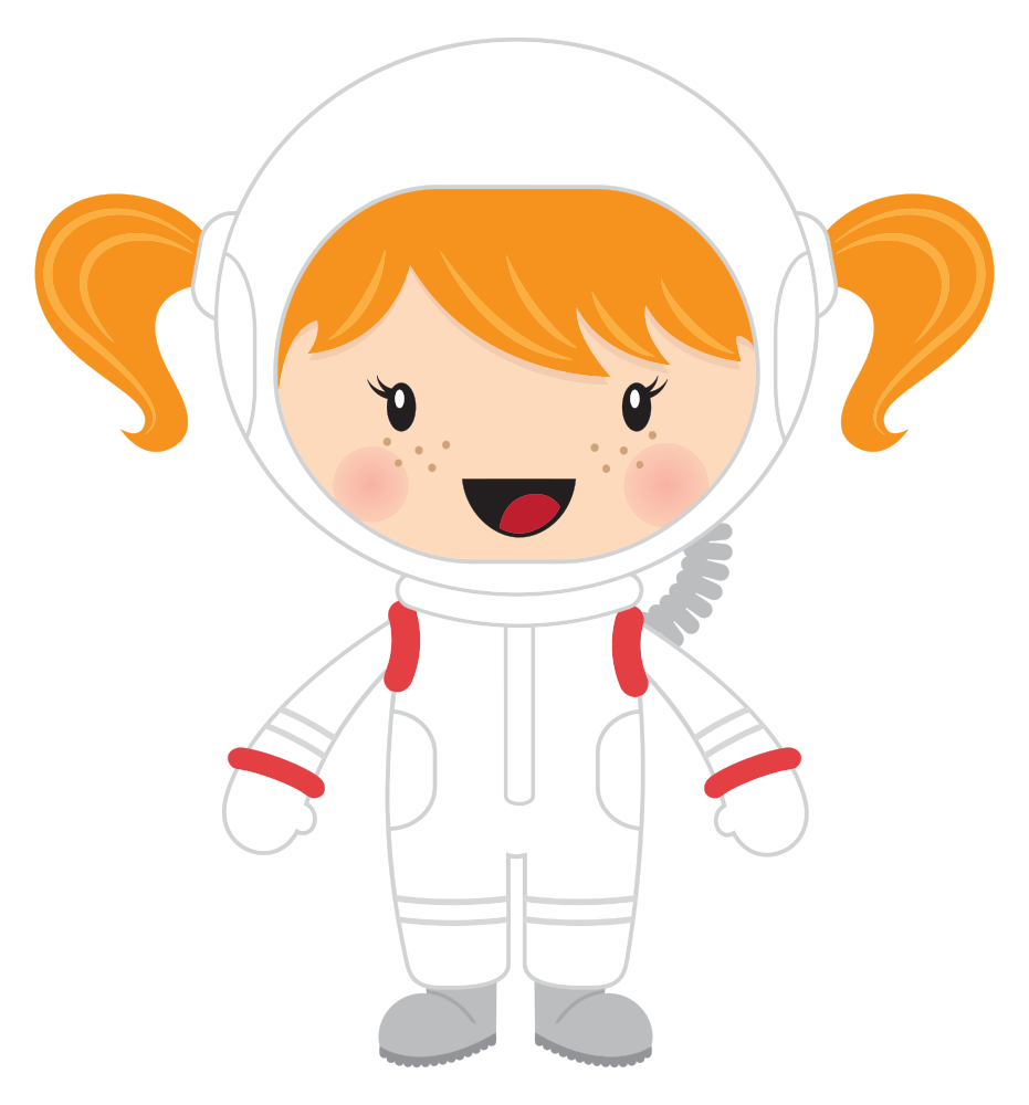 vector royalty free stock Onlinelabels clip art little. Astronaut clipart