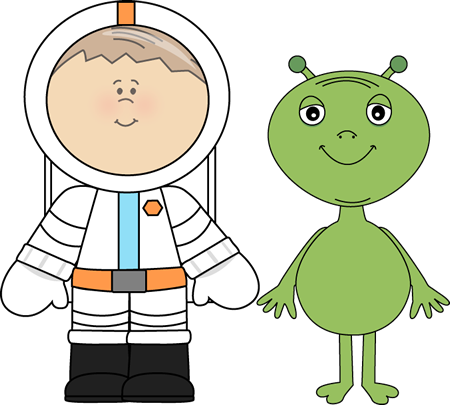 black and white library Image of Astronaut Clipart