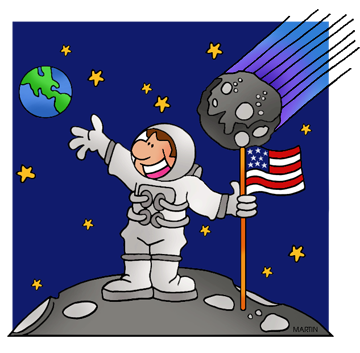 banner black and white download Free astronauts clip art. Astronaut clipart space scientist.