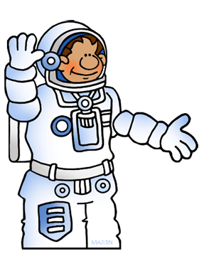 banner black and white download Astronaut clipart space scientist. Free astronauts clip art.