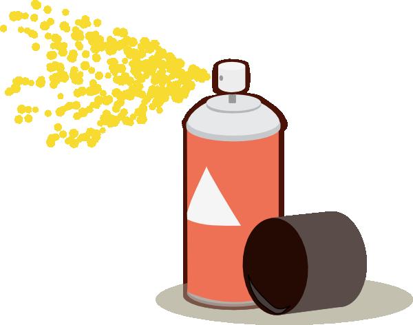 free Aerosol Spray clip art