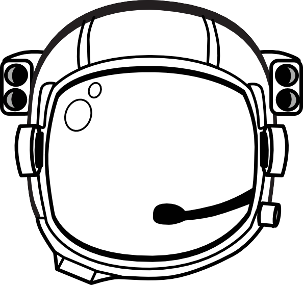 vector library library astronaut Hat Printable