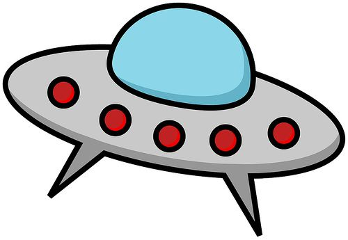 vector free download Clip art alien spaceship. Astronomy clipart flying saucers.