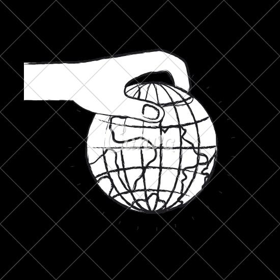 clip art freeuse stock Uranus drawing hand holding. Earth at getdrawings com.