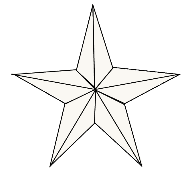 transparent stock How to Draw a Star