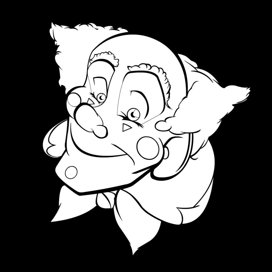svg free Creepy Clowns Drawing at GetDrawings
