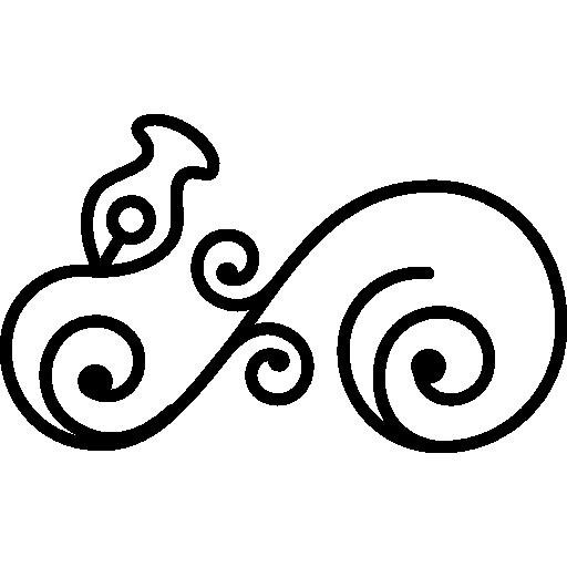 graphic transparent stock Asymmetric design shapes ornament. Asymmetrical drawing