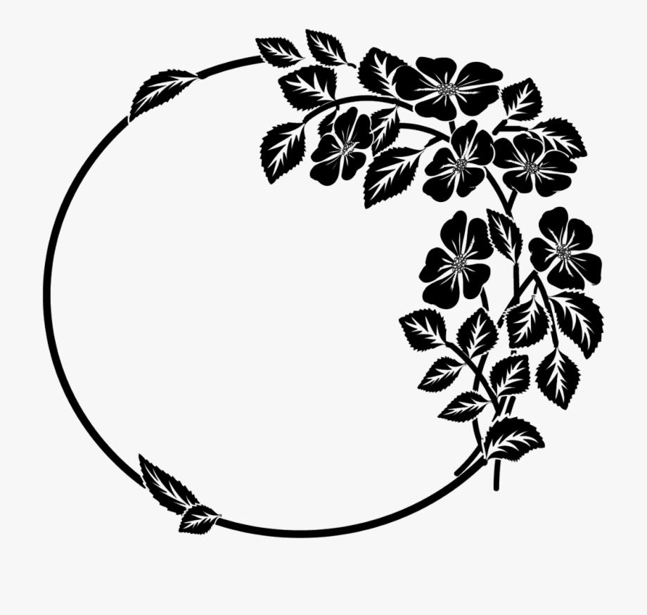 svg transparent Asymmetrical drawing. Catnip herb wreath in
