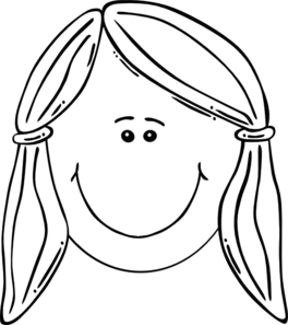 clip royalty free Little Girl Face Drawing at GetDrawings