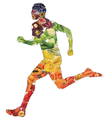 svg library stock Athlete clipart. The vegetarian a successful