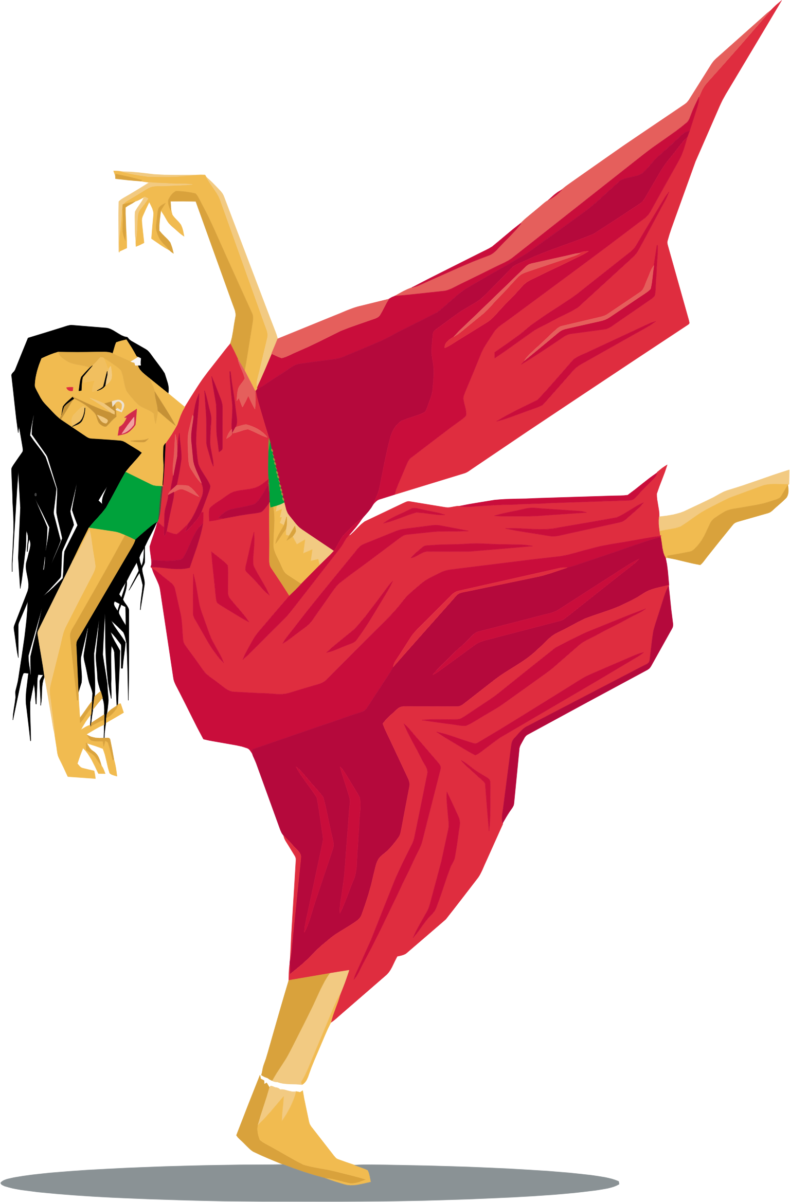 graphic royalty free download Indian Dance Clipart at GetDrawings