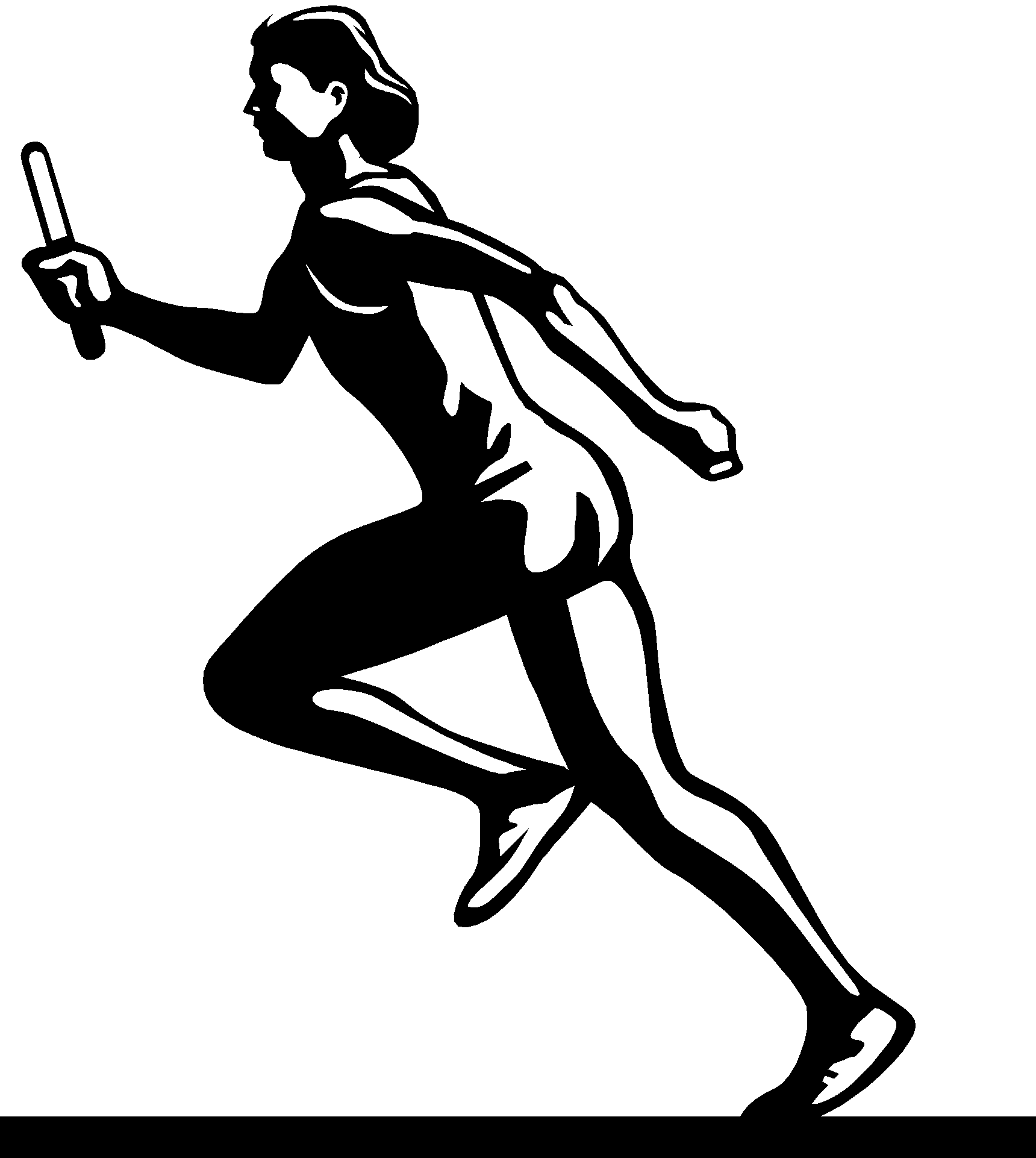 graphic library stock Track and field clip. Tracks clipart athletics day