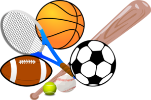 vector transparent library Play sports clip art. Athletic clipart.