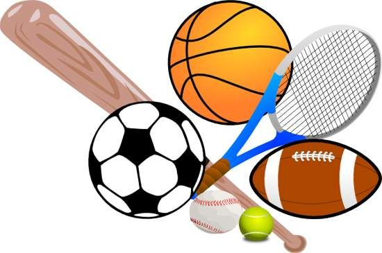 banner black and white download Borders physical education sports. Athletic clipart school sport.