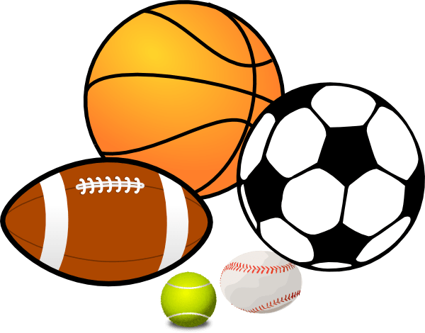 jpg black and white Sports club st gabriel. Athletic clipart school sport.