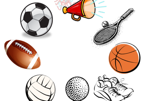 banner transparent stock Athletic clipart school sport. Fall sports begin in.