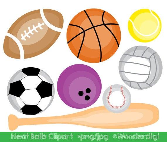 jpg freeuse stock Sports balls clip art. Athletic clipart school sport.