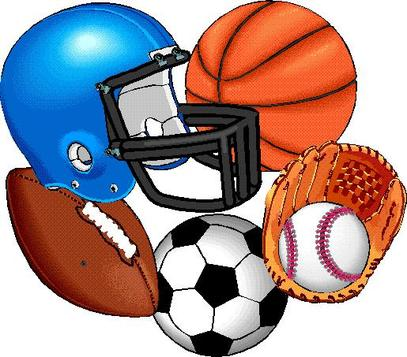 banner library Athletic clipart school sport. Free sports download clip.