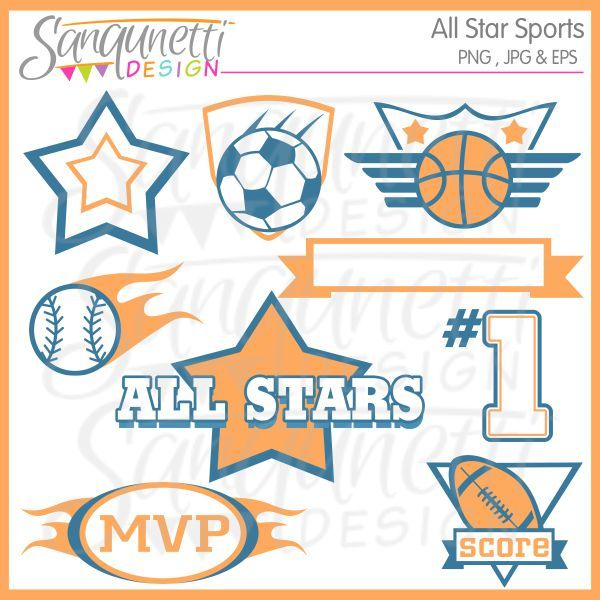 banner freeuse library Pin on sports . Athletic clipart sport apparel