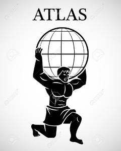 clip transparent download Clipart Of Greek God Atlas