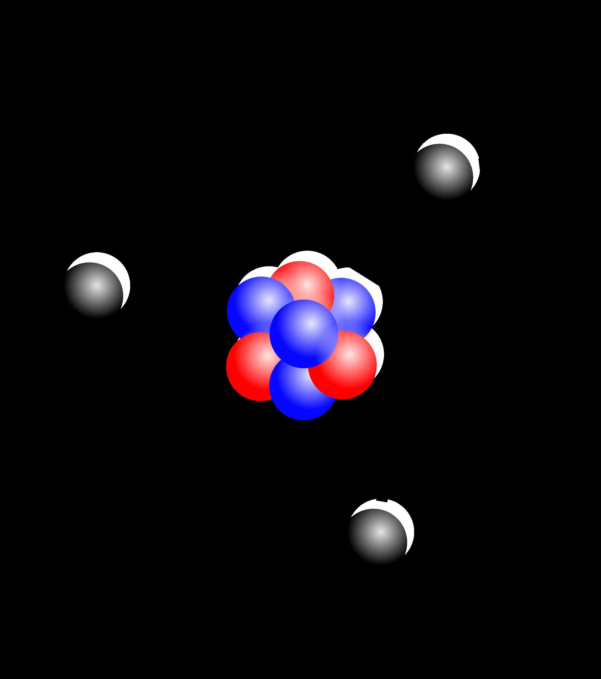 jpg transparent stock Image stylised lithium png. Atom clipart atom element