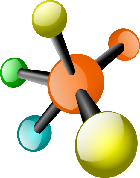picture freeuse download Molecule clip art at. Atom clipart chemistry.