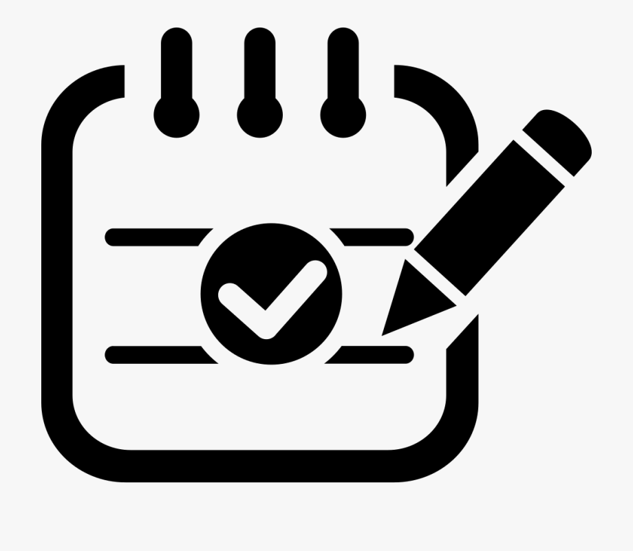 image List icon png . Attendance clipart.