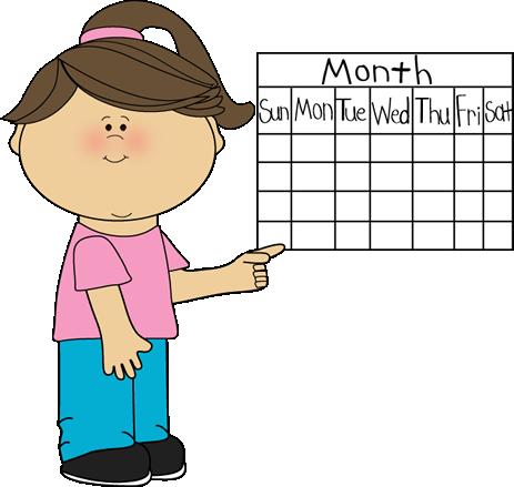 picture library Classroom job clip art. Calendar clipart meeting.