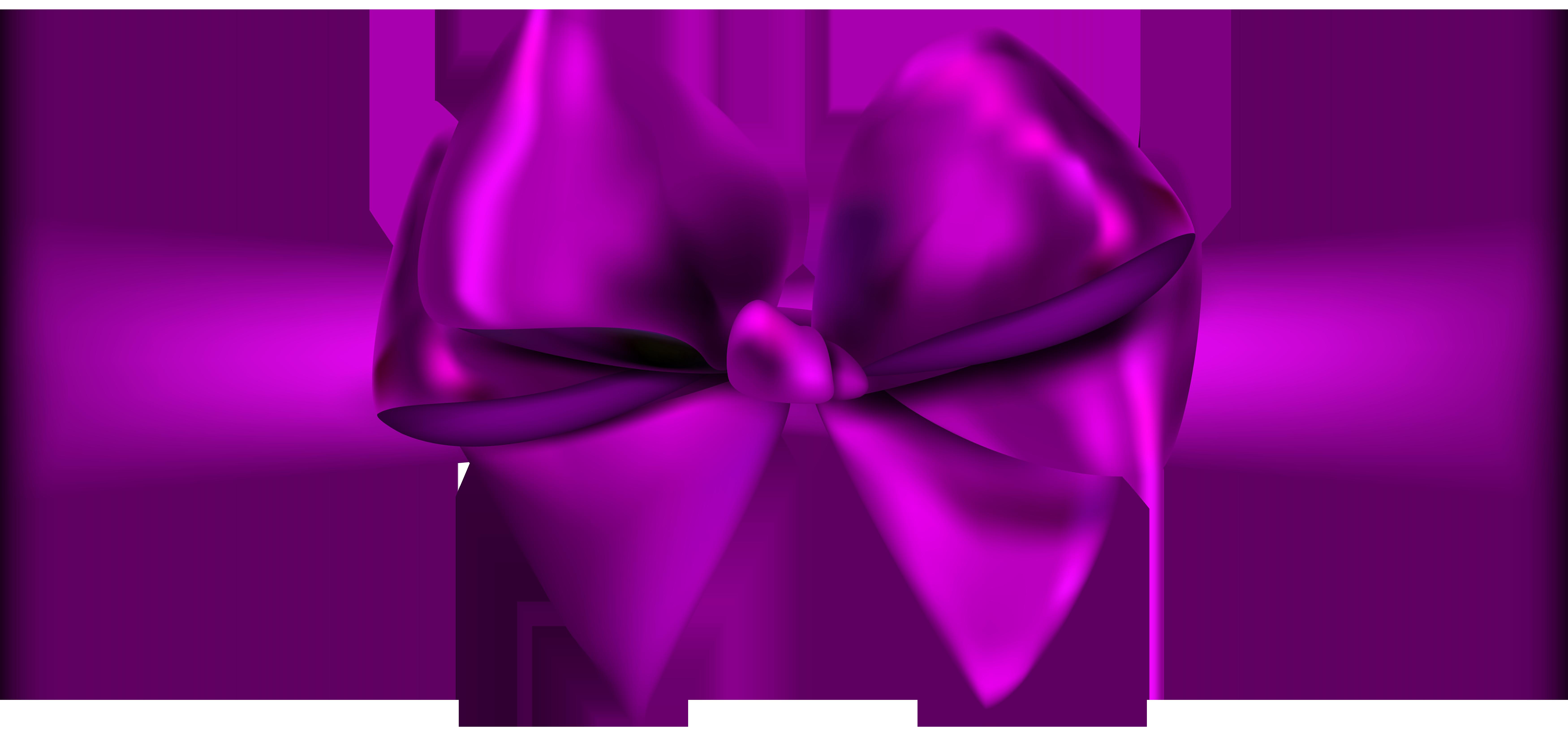 svg library Ribbon png physic minimalistics. Purple bow clipart.