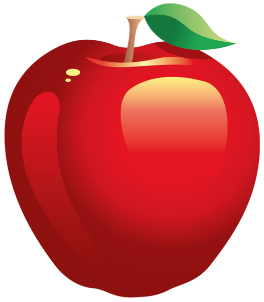jpg library Large Painted Red Apple PNG Clipart