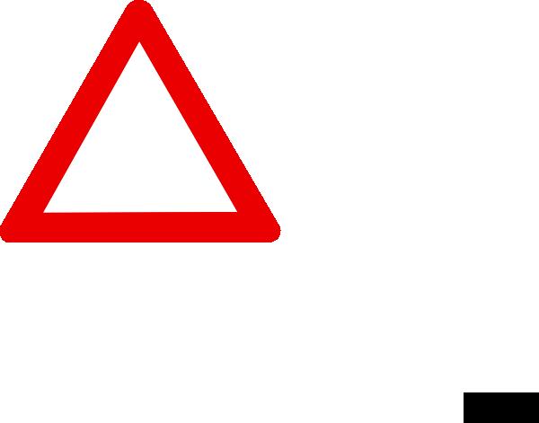 jpg royalty free Blank Warning Sign Clip Art at Clker