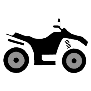svg royalty free download Atv clipart. Lost river honda s.