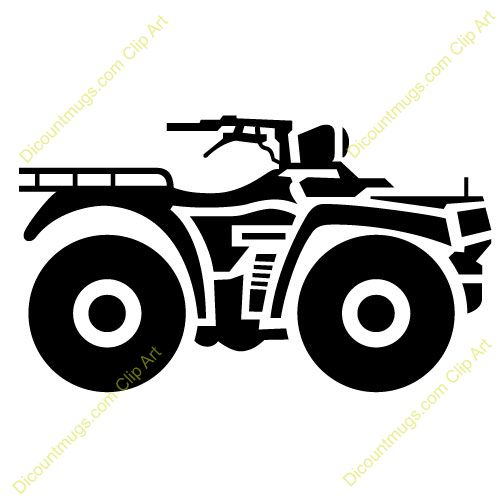graphic royalty free library Atv clipart animated. Transparent free for .