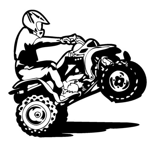 clip art freeuse stock Atv clipart wheeling.  cliparts zone.