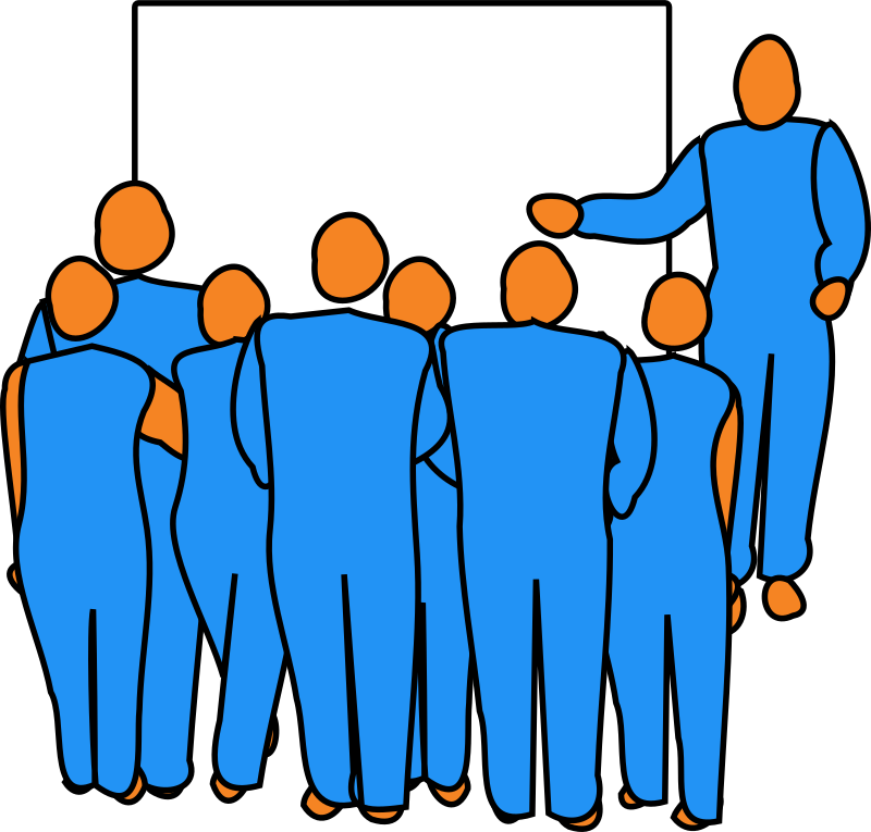 image royalty free Presentation medium image png. Audience clipart