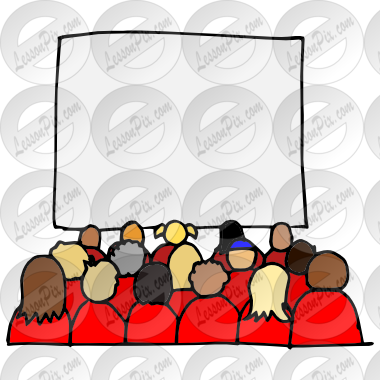 clip stock Audience clipart. Picture for classroom therapy