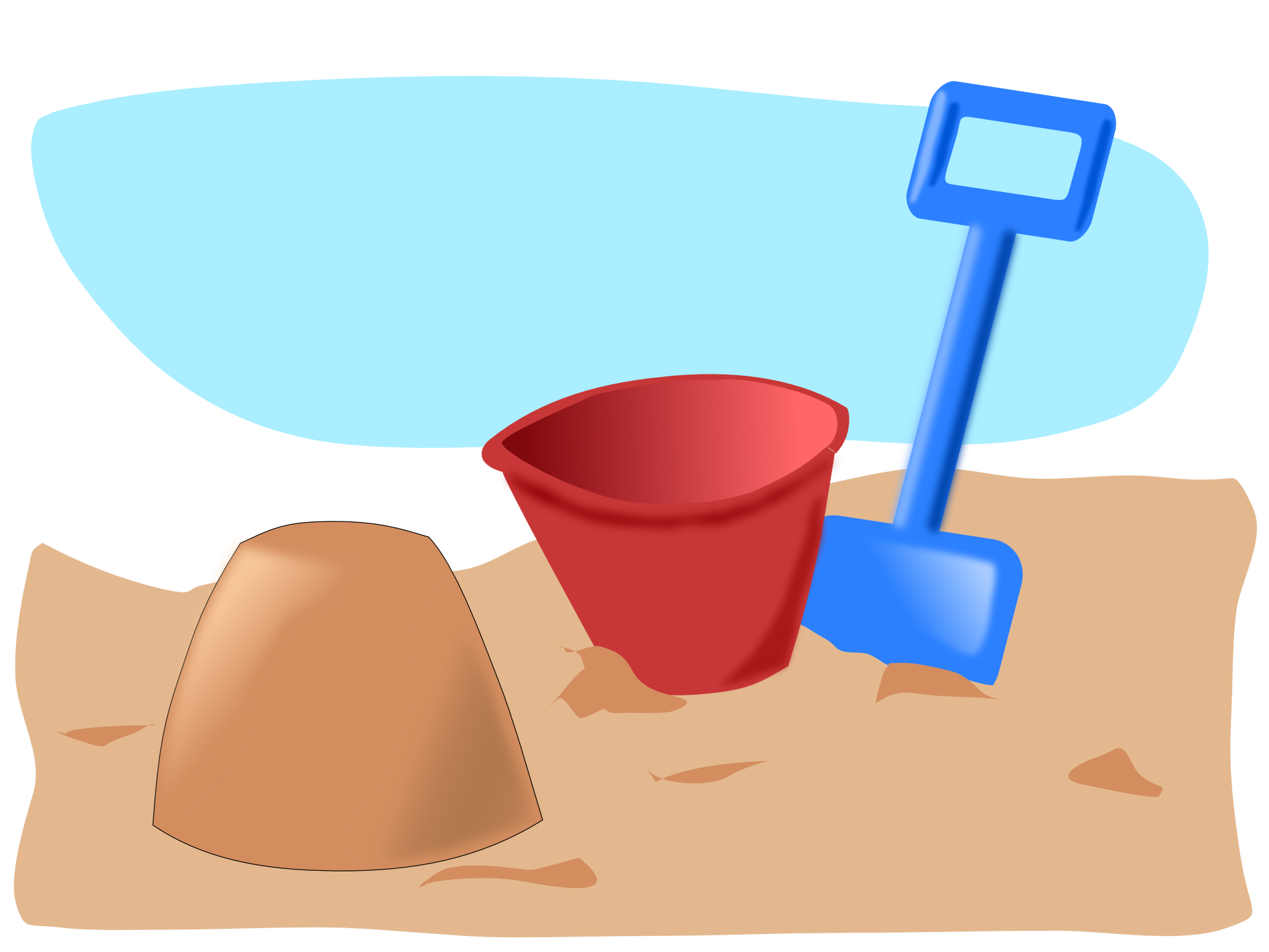 picture freeuse stock Sand Castle Clipart background
