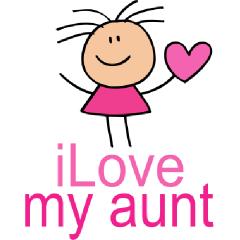 clip transparent Love free for download. Aunt clipart transparent.