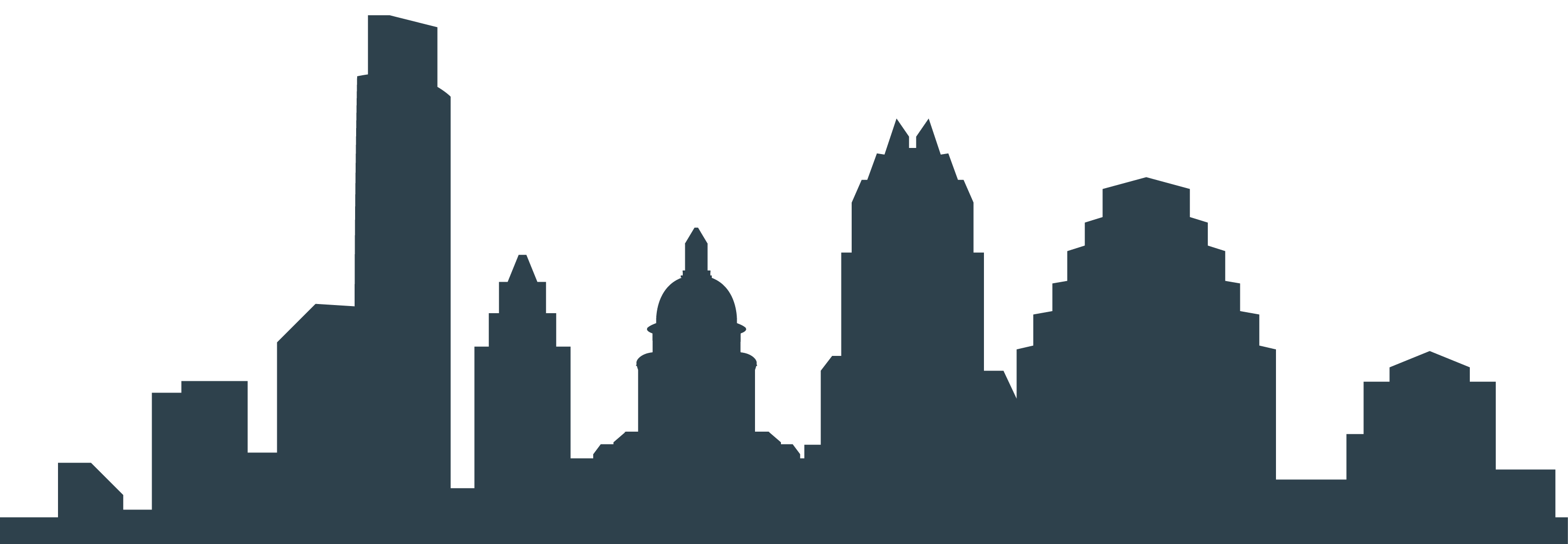 clipart freeuse download Austin Skyline Silhouette at GetDrawings
