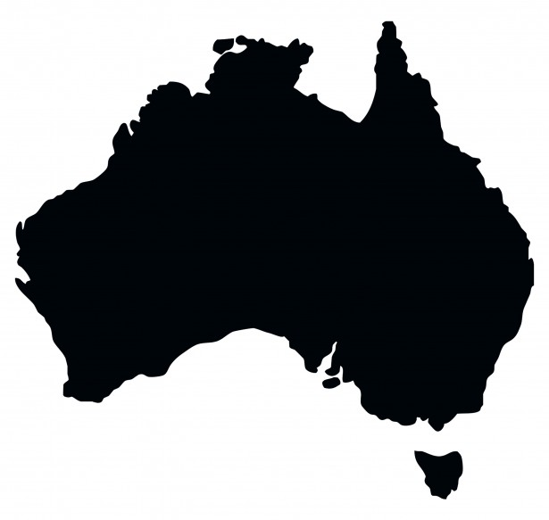 svg royalty free stock Australia clipart. Map free stock photo.
