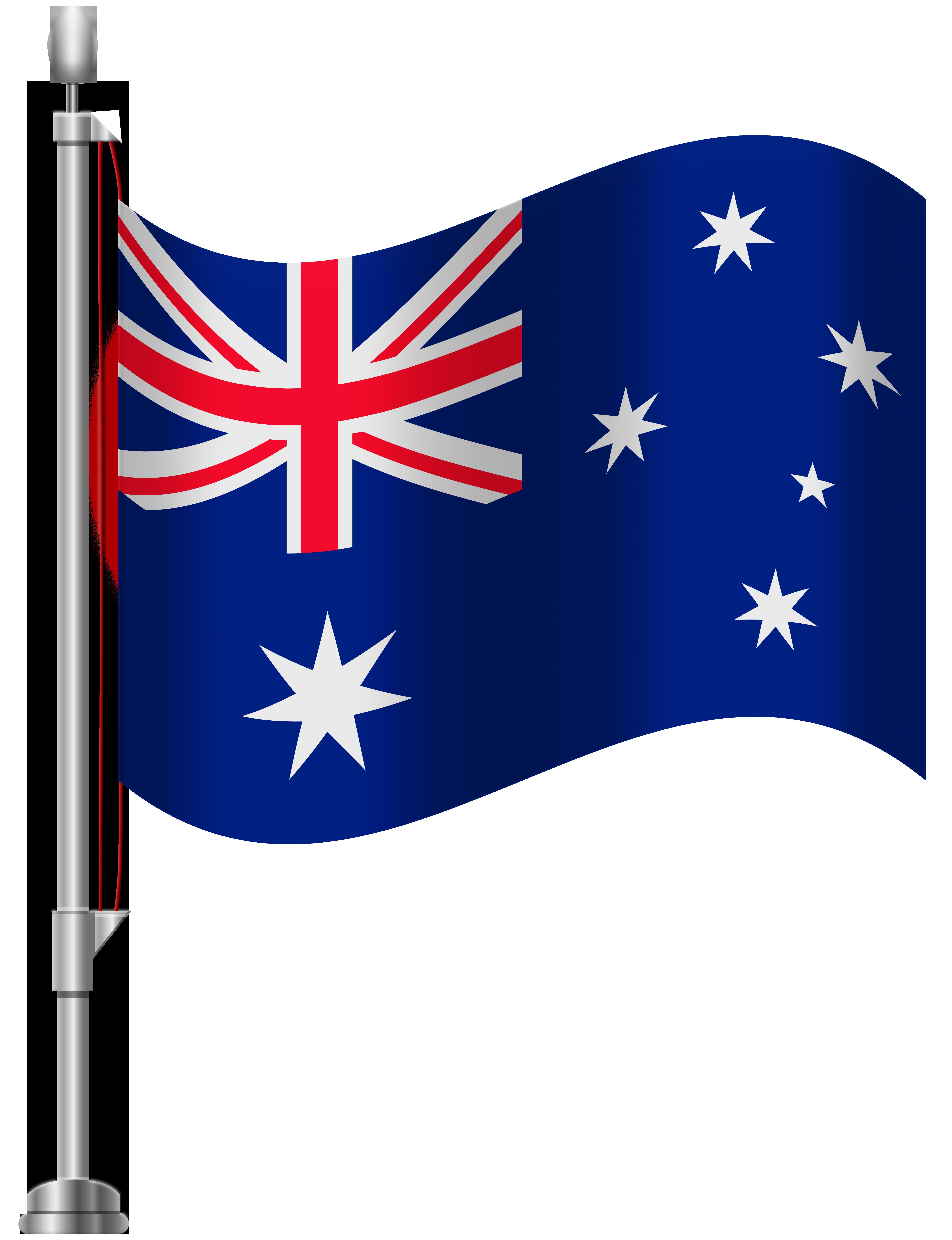 clip black and white download Australia clipart. Flag png clip art