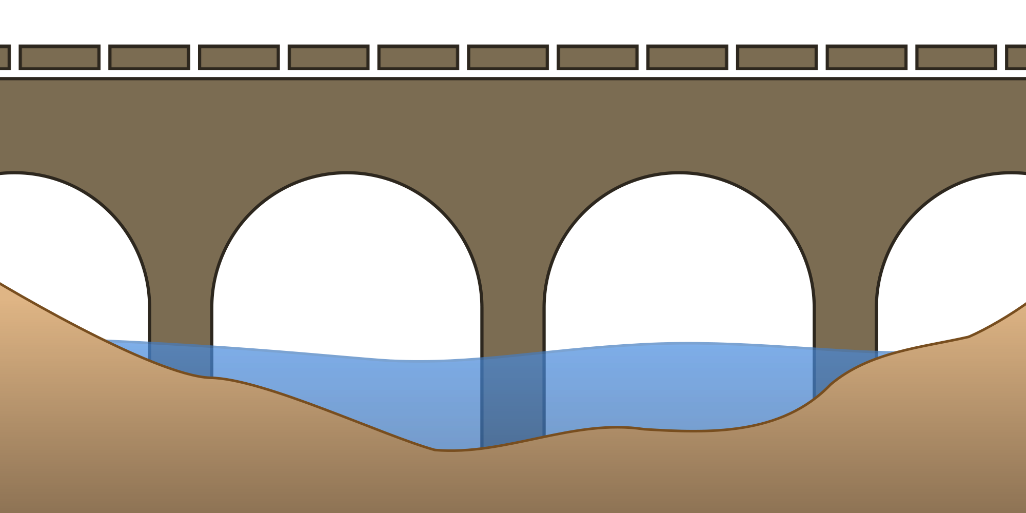 free download Arch Bridge Drawing at GetDrawings
